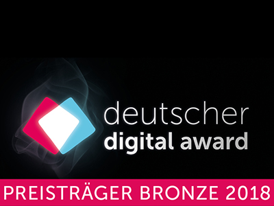 Handbook Germany wins prize at the German Digital Award 2018