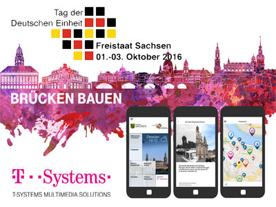 Through the festival area with only a few clicks: Official app for the Day of German Unity celebrations available now