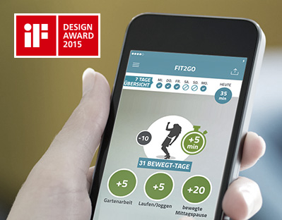Grafik: iF Design Award 2015
