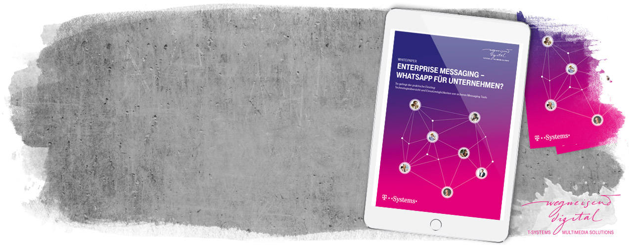 "Whitepaper ""Enterprise Messaging - WhatsApp für Unternehmen"""