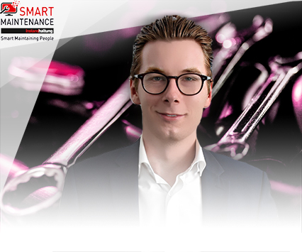Dennis Brückner, Referent auf dem Event  SMART MAINTENANCE 2019