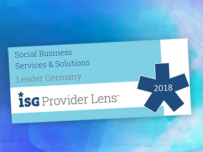 ISG selects Social Business Transformation Leader