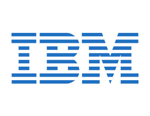 graphic: company logo IBM - partner of T-Systems Multimedia Solutions