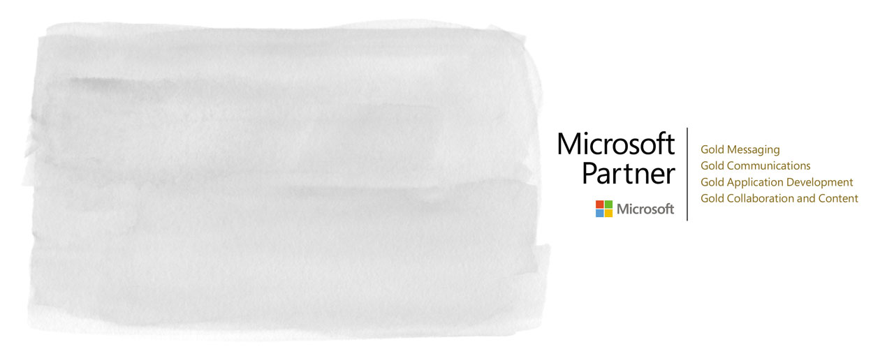 Grafik: Logo Microsoft - Partner T-Systems Multimedia Solutions
